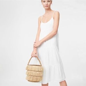 Club Monaco Tiered Tank Dress